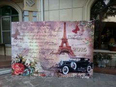 Изготовление баннера на свадьбу в Алматы, арт. 4084605