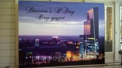 Печать на баннере в Алматы, арт. 44222397