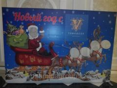 Новогоднее оформление в Алматы, арт. 38336389