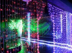 Новогоднее оформление зданий в Алматы,  арт....