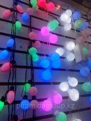 Новогоднее оформление зданий в Алматы, арт. 38335524