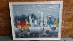 Изготовление картинок с багетом в Алматы, арт. 8360274