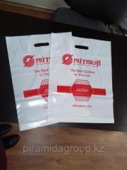 Изготовление полиэтиленовых пакетов с логотипом в Алматы, арт. 43800278