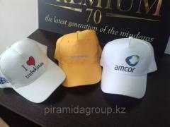 Нанесение логотипа на кепки в Алматы, арт. 42643254