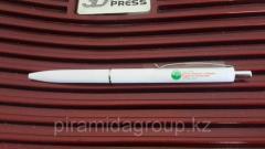 Нанесение логотипа на ручки в Алматы, арт. 43799792