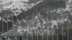 Печать флагов на политексе в Алматы, арт. 4542459