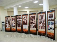 Изготовление мобильных выставочных стендов в Алматы, арт. 4502242