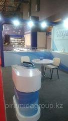 Оформление выставки Дизайн и строительство выставочных стендов в Алматы, арт. 2264367