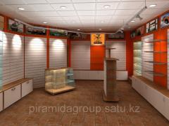 Оформление торговых площадей и изготовление витрин в Алматы, арт. 4133041