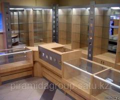 Оформление торговых площадей и изготовление витрин в Алматы, арт. 5039034