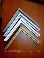 Production of frames for paintings