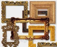 Изготовление рамок из дерева пластика металла для картин в Алматы, арт. 10909055