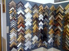Изготовление рамок из дерева пластика металла для картин в Алматы, арт. 2140756