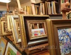 Изготовление фоторамок и рам для картин в Алматы, арт. 10909056