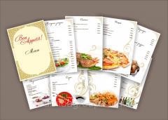 Дизайн и изготовление меню, арт. 12070988