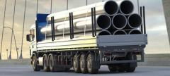 Delivery of metal rolling, cargo transportation