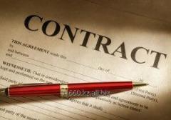 Составление договоров и локальных актов компании