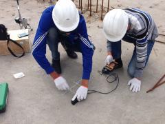 Неразрушающие методы контроля конструкций (магнитным и ультразвуковым методами, СКОЛ).