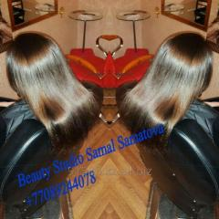 Аминокислотное лечение и выпрямление волос