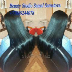 Ламинация волос