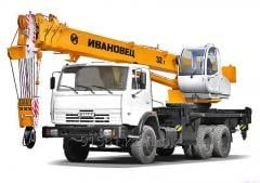 [Copy]  Аренду автокрана 25 тонн