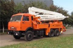 Услуга бетононасоса рукав от 45 м