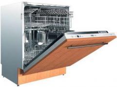 Подключение машин посудомоечных