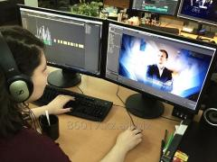 Производство аудио-видео рекламы