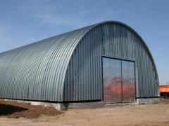 Строительство склада для хранения агрокультур