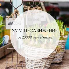 Ведение соц.сетей, SMM-маркетинг