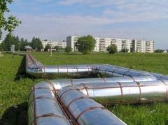 Пароизоляция нефтепровода  в Актау