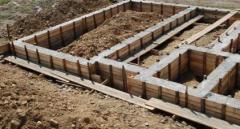 Устройство ленточного фундамента в Актау