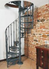 Винтовая лестница в Актау