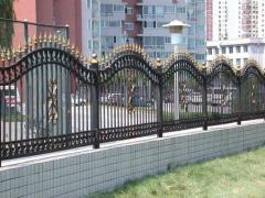 Кованый забор в Актау