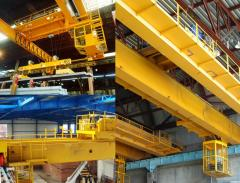 Installation, dismantle and repair of load-lifting cranes of all types
