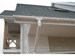 Installation of gutters
