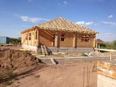 Услуги по строительству зданий деревянных