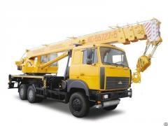 Truck crane of 25 tons ren