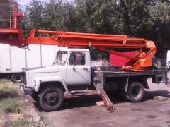 Rental of construction equipment