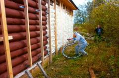 Polyurethane thermal insulation