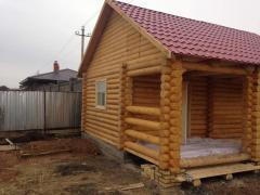 Строительство частных домов из сруба, деревянные