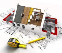 Услуга по строительству зданий