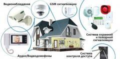Монтаж, настройка и техническое обслуживание систем охранно- пожарной сигнализации, средств связи и оповещения любой сложности.