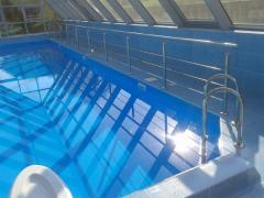 Проектирование, изготовление  и монтаж  ограждений для бассейнов