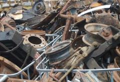 Recycling of scrap metal