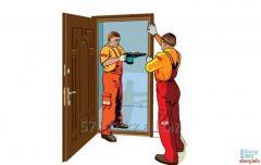 Ремонт металлических дверей в любом варианте