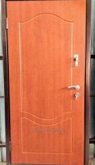 Дверь утепленная с МДФ накладкой