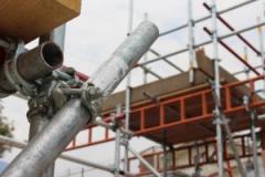 Аренда строительных лесов хомутовых, британского стандарта