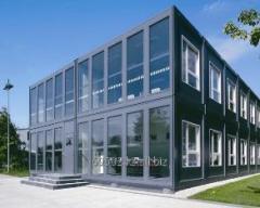 Строительство из металлоконструкции (сооружения, склады, навес)