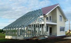 Проектирование и строительство быстровозводимых жилых и офисных зданий из металлоконструкций